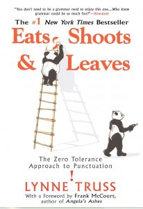 National Grammar Day, Eats Shoots and Leaves