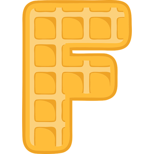Letters Upper Case F