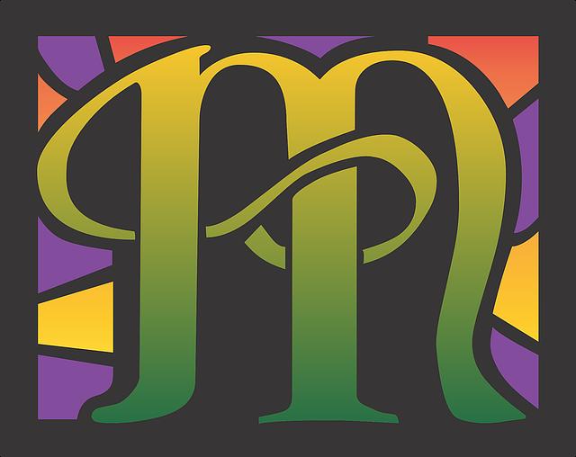Letters Uncial M