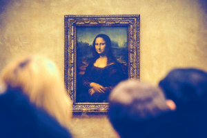 mona lisa, art, writing as art