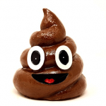 poop emoji, art, writing.